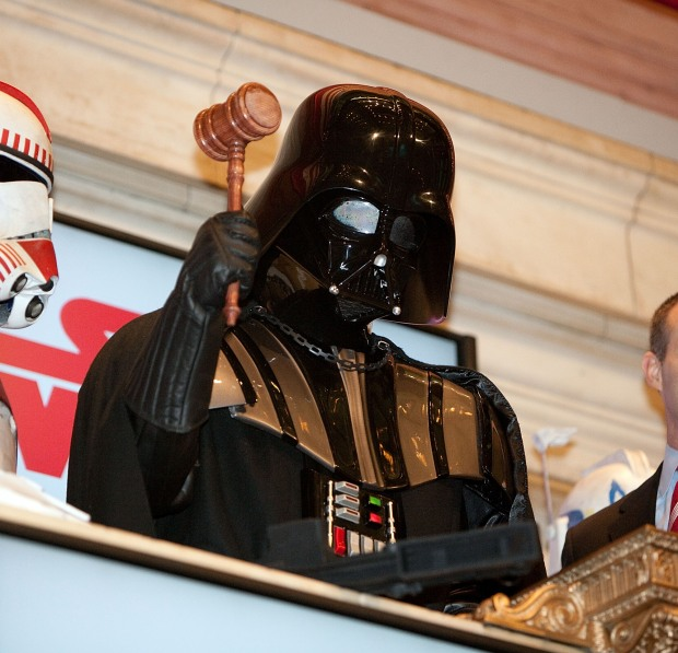 Star Wars Comes to Wall Street