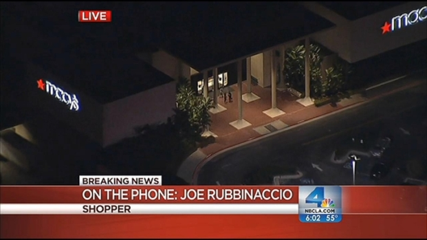 [LA] Shots Fired Outside Newport Beach Mall