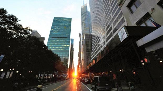 Manhattanhenge 2012