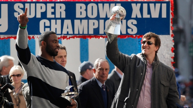 [NY] Giants' Super Bowl XLVI Victory Parade Highlights
