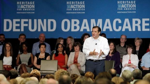 Sen. Ted Cruz Speaks at Dallas Event