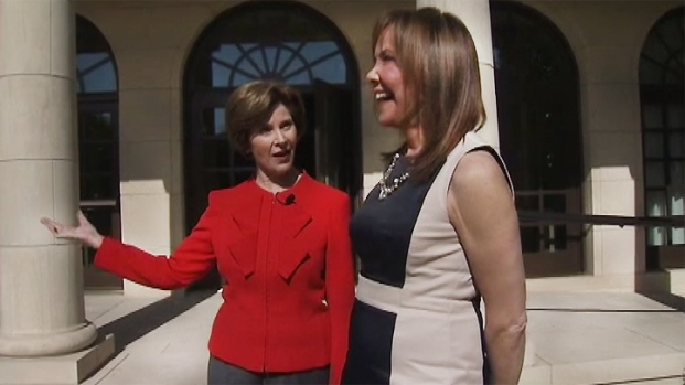 [NATL-V-DC] Laura Bush at the Bush Library