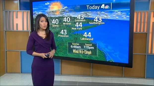 [NY] Domenica Davis' forecast for Sunday, March 27