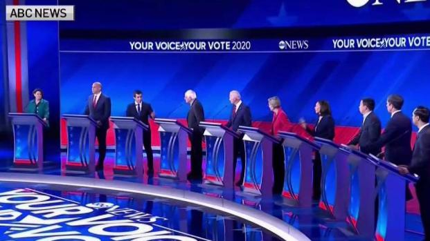 [NY] 3rd Presidential Debate Highlights Divide Among Democrats