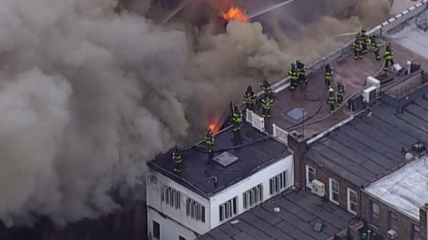 [NY] 5-Alarm Inferno Devours NYC Buildings