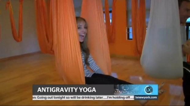 [NY] Antigravity Yoga