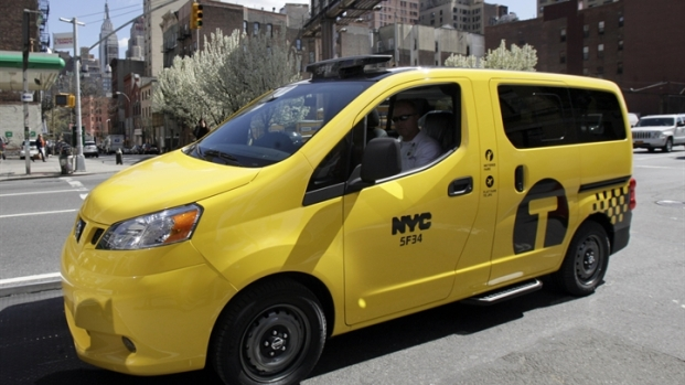 [NY] NYC's New Taxi Arrives