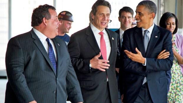 [NY] Obamas Check WTC Progress