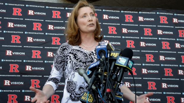 [NY] Incoming Rutgers Athletic Director Julie Hermann Visits College