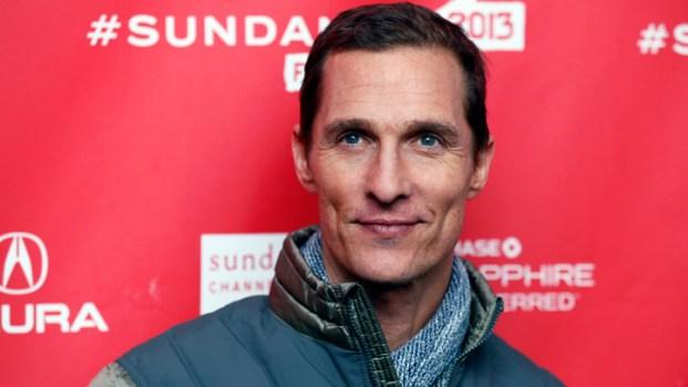 "[NATL] Matthew McConaughey's ""Mud"" Premiere at Sundance Film Festival"