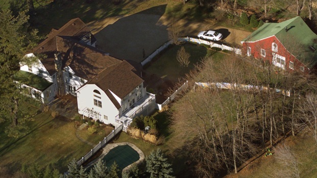 Fire tackled at Clintons' New York home