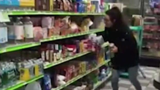 [NY] Bizarre Aisle Clearing Meltdown Shocks Witnesses