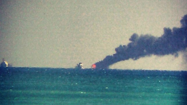 Three People Rescued From Boat Fire Off Miami Beach