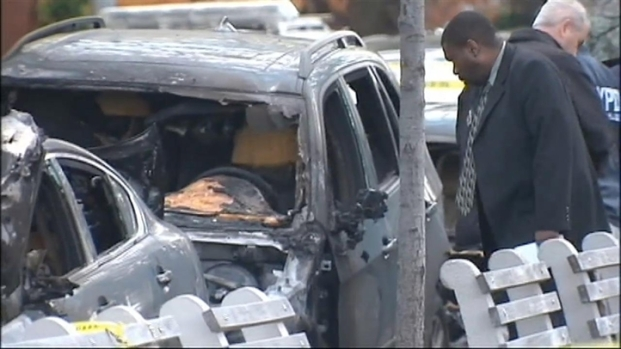 [NY] Police Investigate Swastikas, Burned Cars in Brooklyn