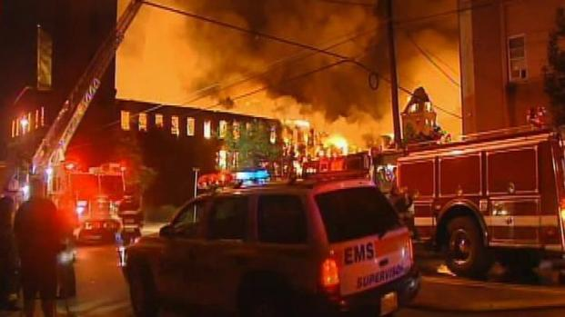 [PHI] 8-Alarm Fire Destroys Camden Warehouse