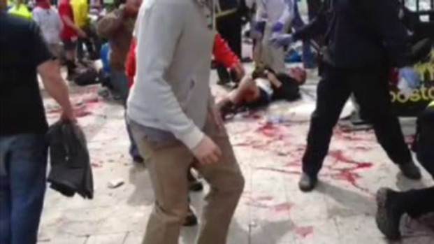 [PHI] Cell Phone Video: Marathon Bombings