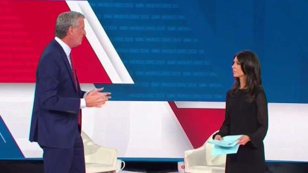 [NY] De Blasio Heckled About Pantaleo Firing at CNN Town Hall
