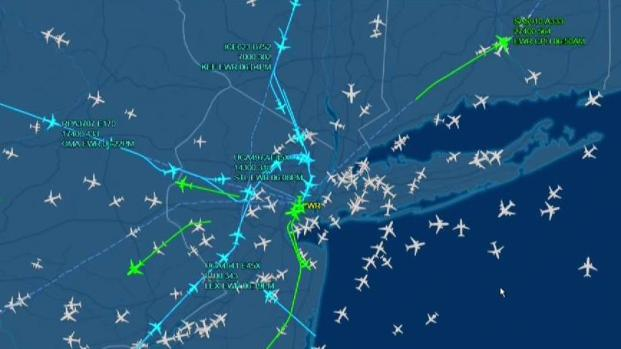 [NY] Drone Sighting Prompts Ground Stop for Newark Airport