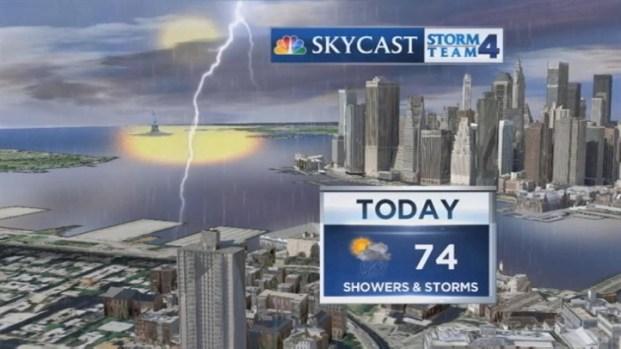 [NY] Early Morning Forecast for Saturday, May 11