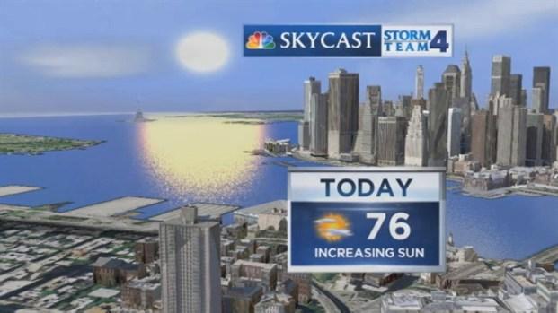 [NY] Early Morning Forecast for Saturday, September 15