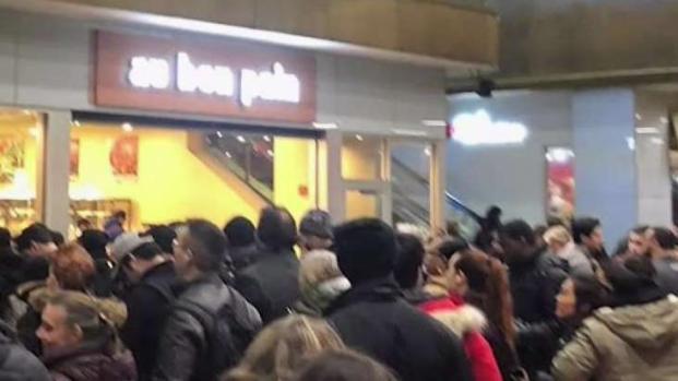 [NY] Extreme Overcrowding Closes Port Authority Bus Terminal