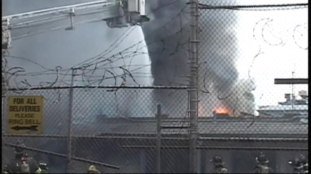 [NY] Brooklyn Factory Fire on Fulton Street
