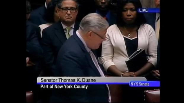 [NY] Historic Speeches From The Senate Floor
