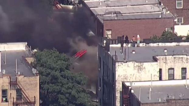 Bronx fire spreads to 4 buildings