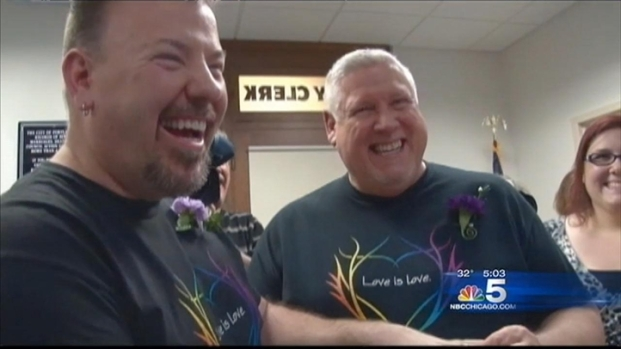 [CHI] Chicagoans React to Obama's Push For Same Sex Marriage in Illinois