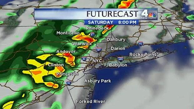 [NY] Early Morning Forecast for Saturday, September 8