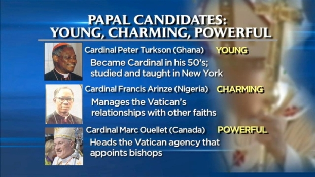 [NY] New Focus on Papal Candidates