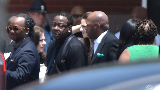 Bobbi Kristina Brown Mourned at Funeral
