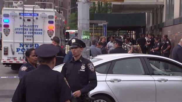 Police respond to active shooter situation in NYC hospital