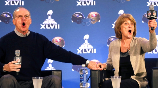 [AP] Super Bowl Is a Harbaugh Family Affair