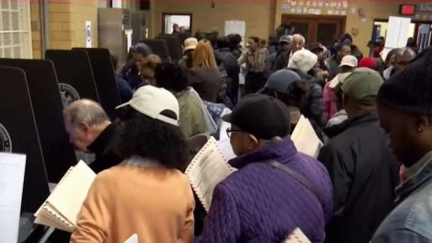 Huge Problems at Polls for NYC Voters on Election Day