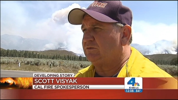 "[LA] ""Devastating"" Mountain Fire Burns Homes"