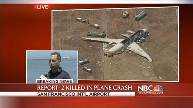 [NATL-BAY] RAW VIDEO: Eyewitness Description of Plane Crash