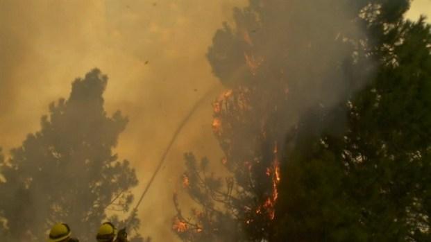 [BAY] RAW VIDEO: Rim Fire Rages Near Yosemite National Park