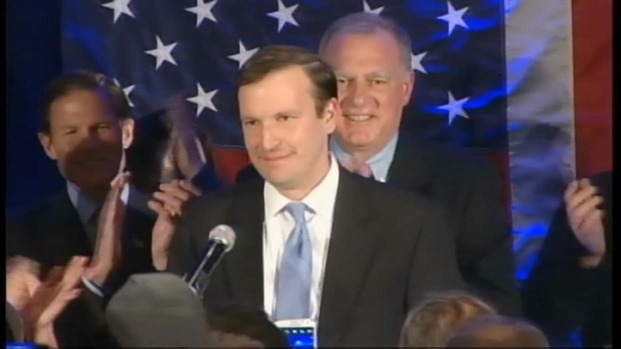 [NY] Projected CT Senate Winner Murphy Speaks