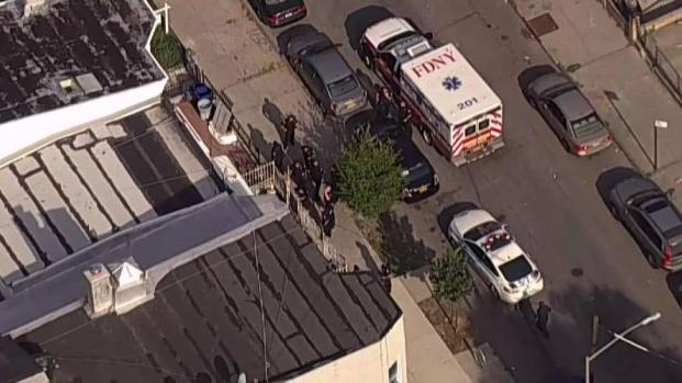 Man Barricaded in Brooklyn Building