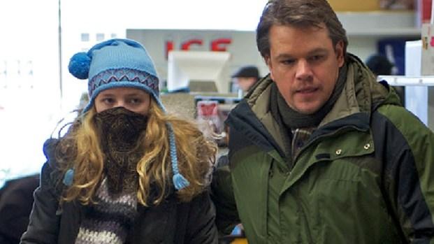 "[NATL] Matt Damon Prepares For ""Contagion"""