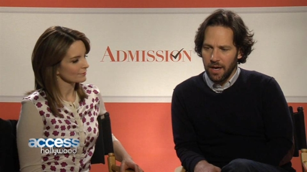 "[NATL] Tina Fey & Paul Rudd Talk Chemistry, College and ""Admission"""