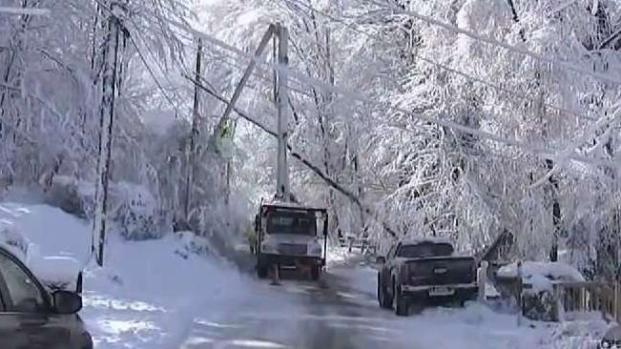 [NY] NJ Crews Work to Restore Power After Winter Storm