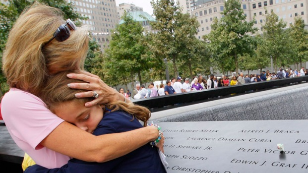 [NY] Scenes from Sept. 11 Ceremony at Ground Zero