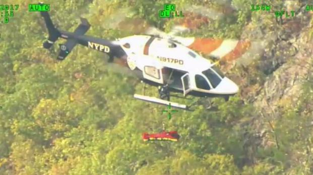 [NY] NYPD Aviation Unit Pulls off Daring Rescue of Hiker