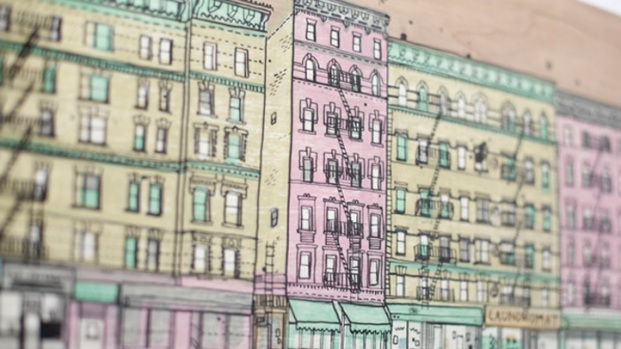 Artist Seeks to Draw Every NYC Building