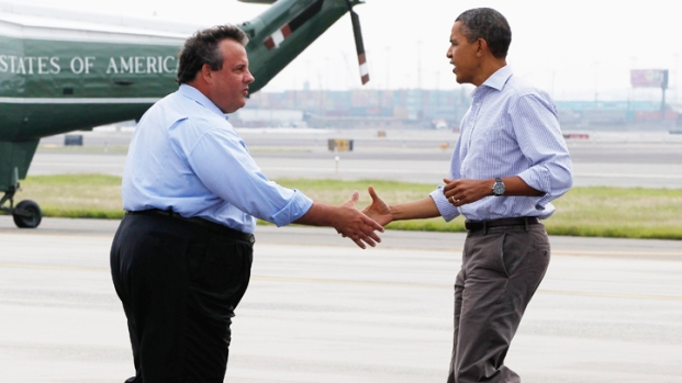President Obama Tours Flood-Damaged NJ
