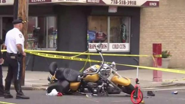 [NY] Off-Duty NYPD Officer Badly Hurt in Motorcycle Crash
