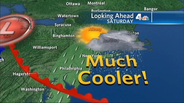[NY] Rain Breaks Heatwave