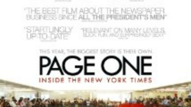[NTSD] 'Page One' Holds D.C. Premiere at Newseum
